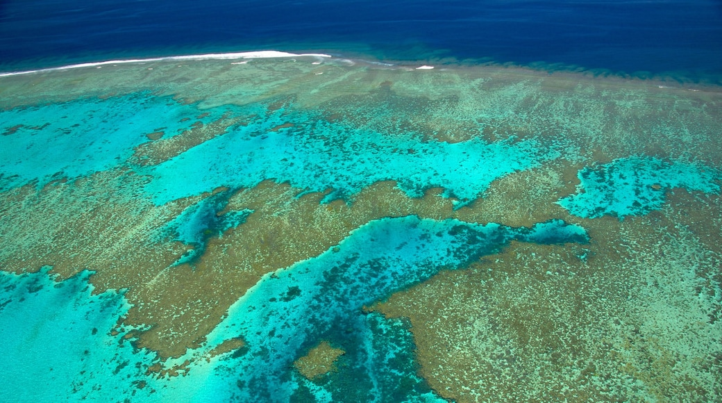 Nouméa das einen farbenfrohe Riffe