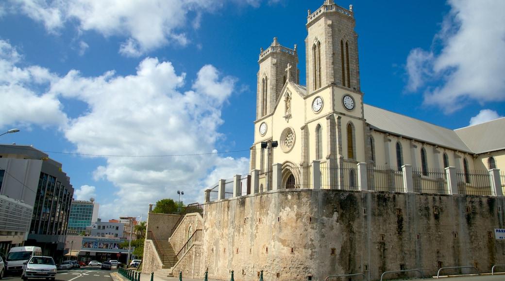 Noumea Cathedral welches beinhaltet Geschichtliches