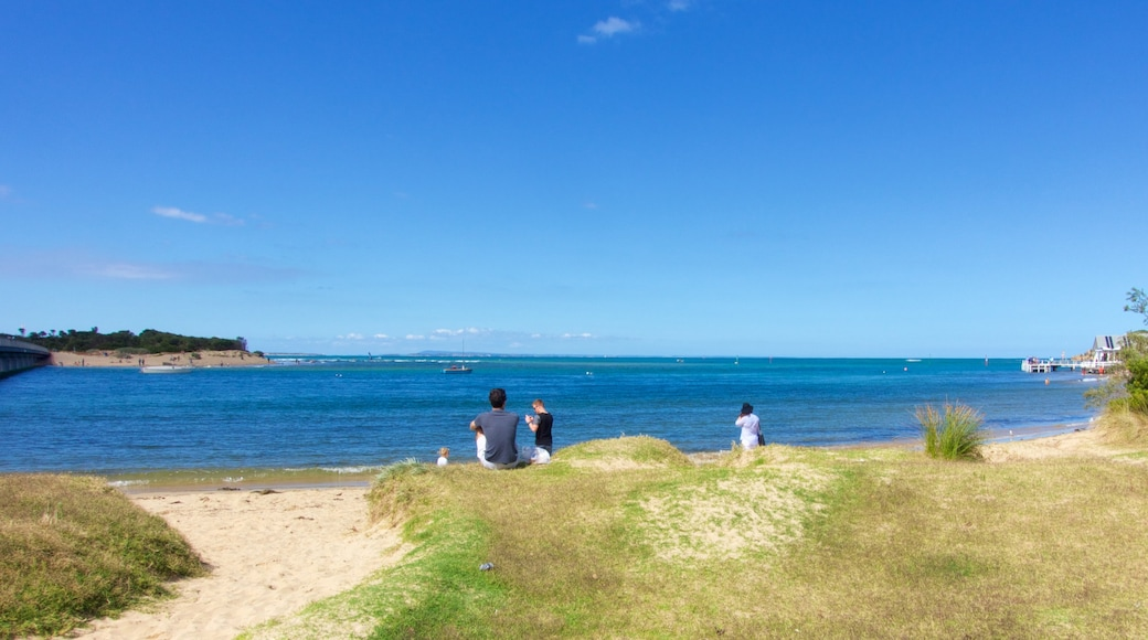 Barwon Heads which includes general coastal views as well as a small group of people