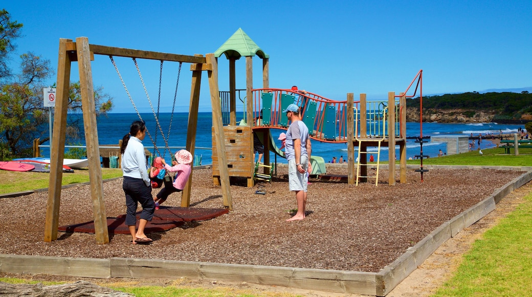 Point Lonsdale which includes a playground as well as a family