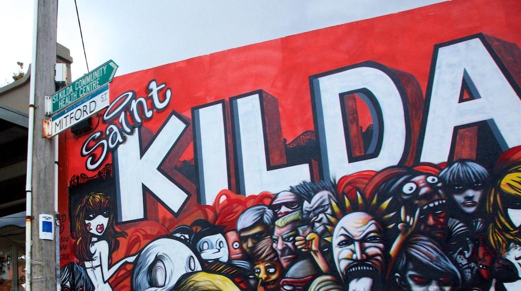 St. Kilda showing outdoor art