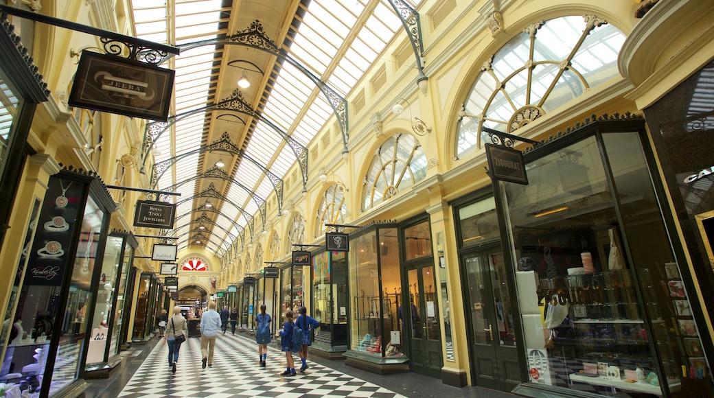 皇家商店街 设有 購物 和 內部景觀