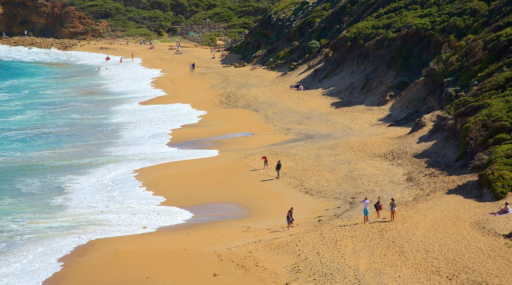 Bell\'s Beach featuring a beach