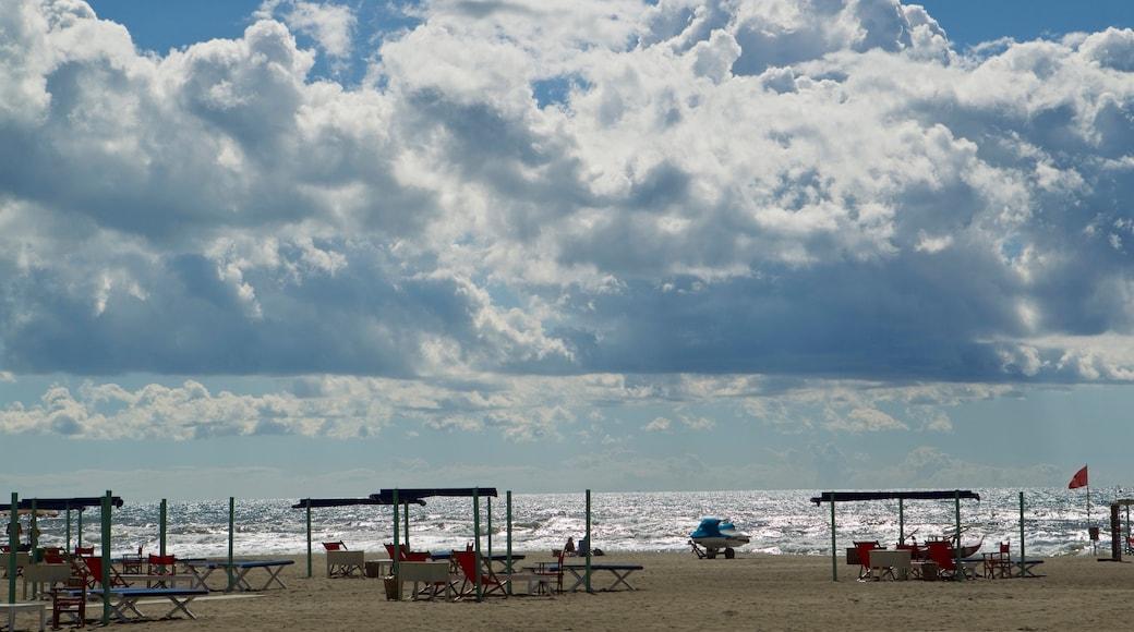 Forte dei Marmi caratteristiche di vista della costa