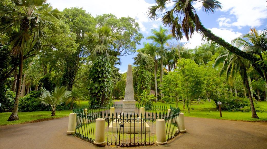 Pamplemousses Botanical Garden featuring a park