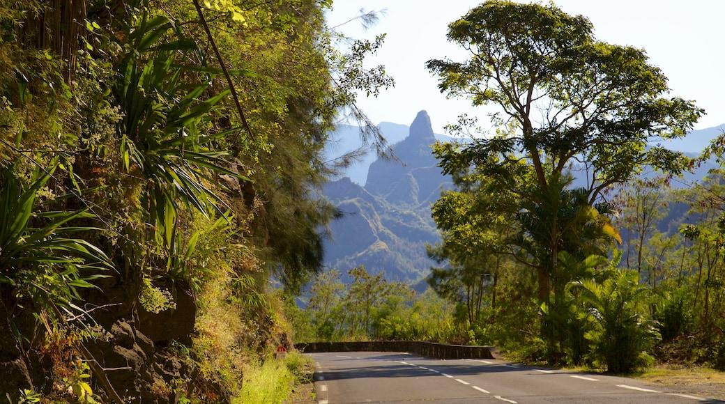 Cilaos featuring mountains