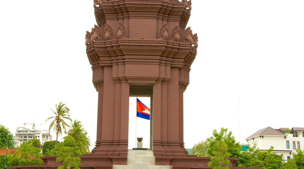 Independence Monument showing a monument