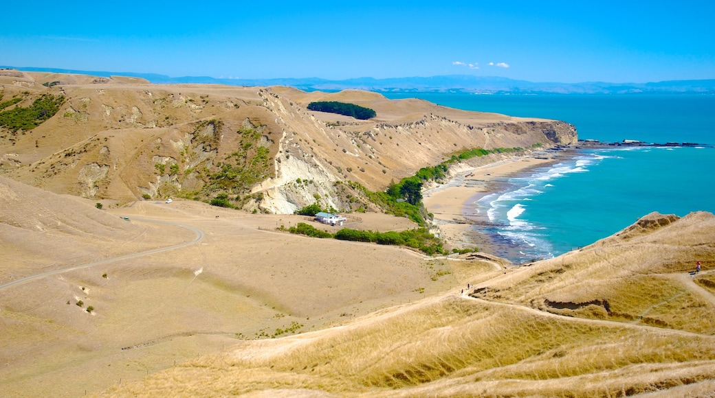 Cape Kidnappers showing tranquil scenes, general coastal views and landscape views
