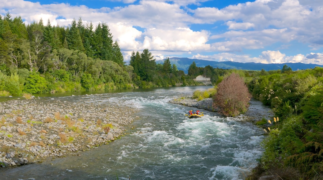 Turangi featuring a river or creek and rafting