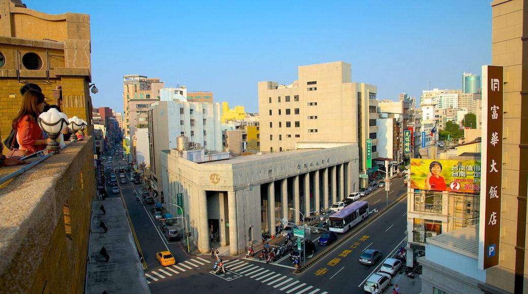 台南 其中包括 核心商業區 和 城市