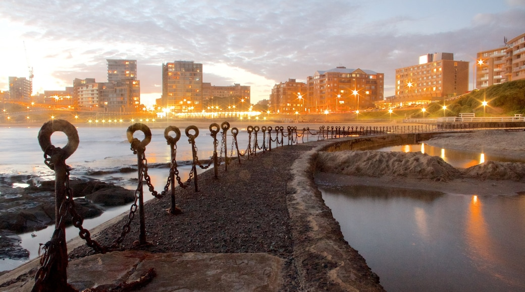 Newcastle showing general coastal views