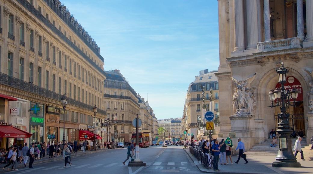 Paris montrant patrimoine historique, ville et scènes de rue