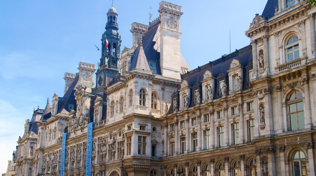 Hotel de Ville which includes heritage elements and heritage architecture