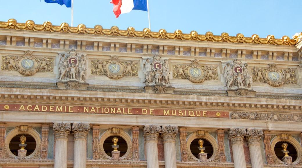 Paris mettant en vedette patrimoine architectural et patrimoine historique
