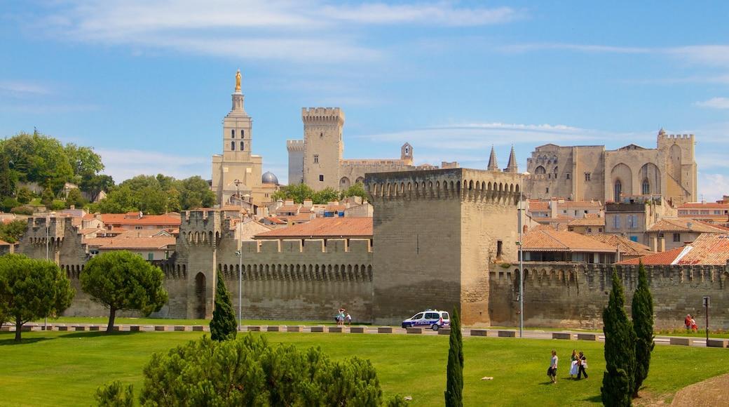 Avignon welches beinhaltet historische Architektur, Geschichtliches und Stadt
