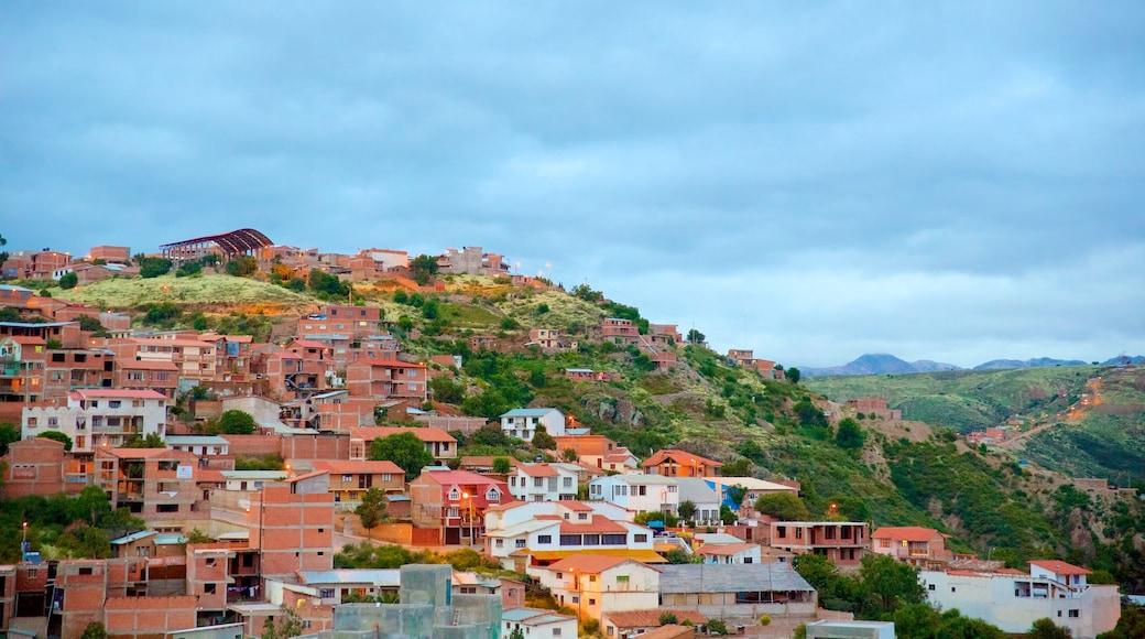 Sucre das einen Stadt und ruhige Szenerie