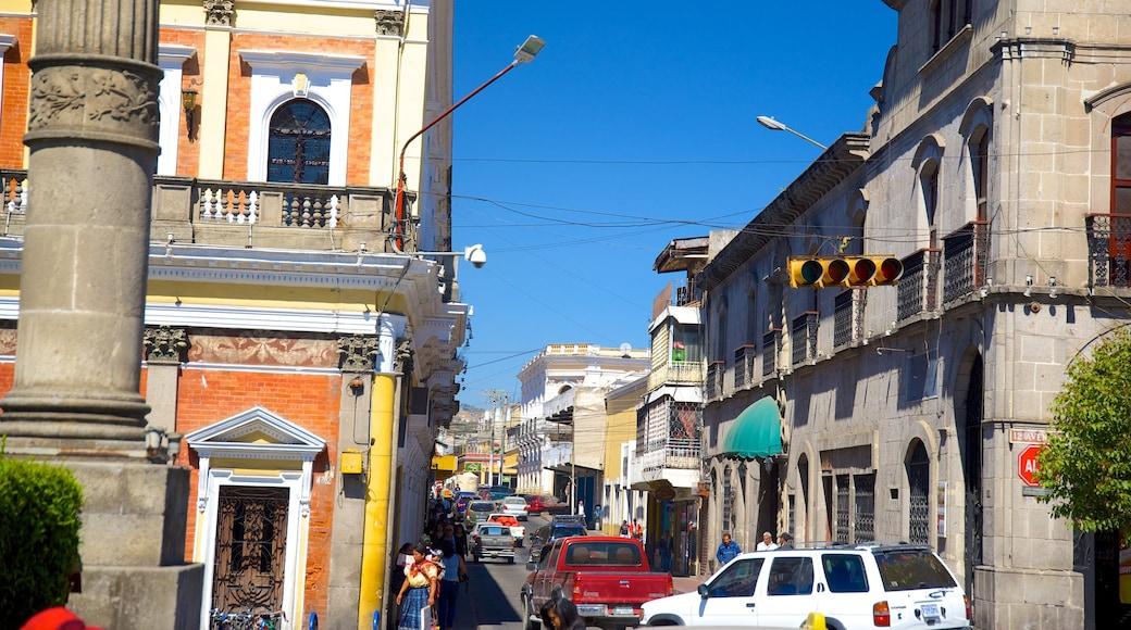 Quetzaltenango which includes a city