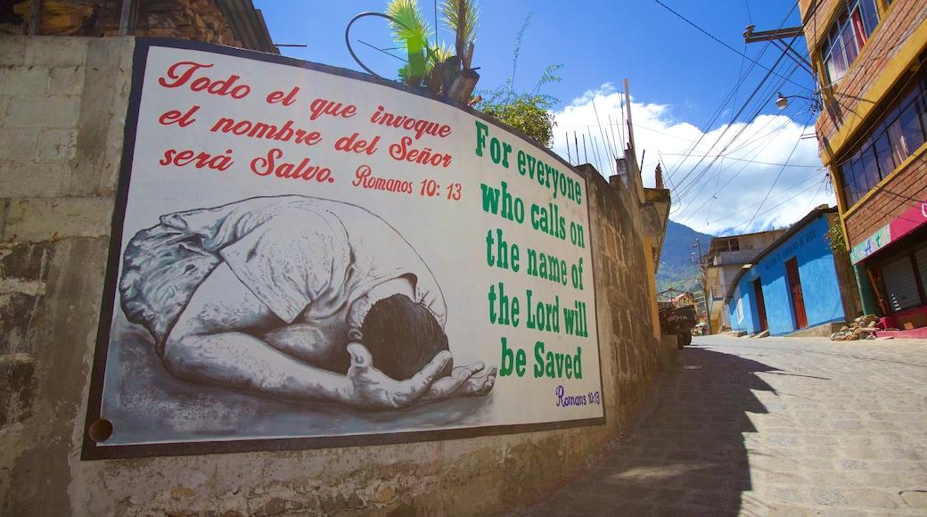 산 페드로 라 라구나 이 포함 신호