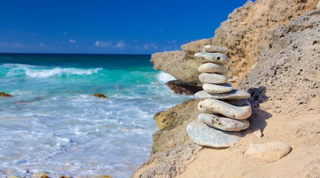 Druif Beach das einen allgemeine Küstenansicht
