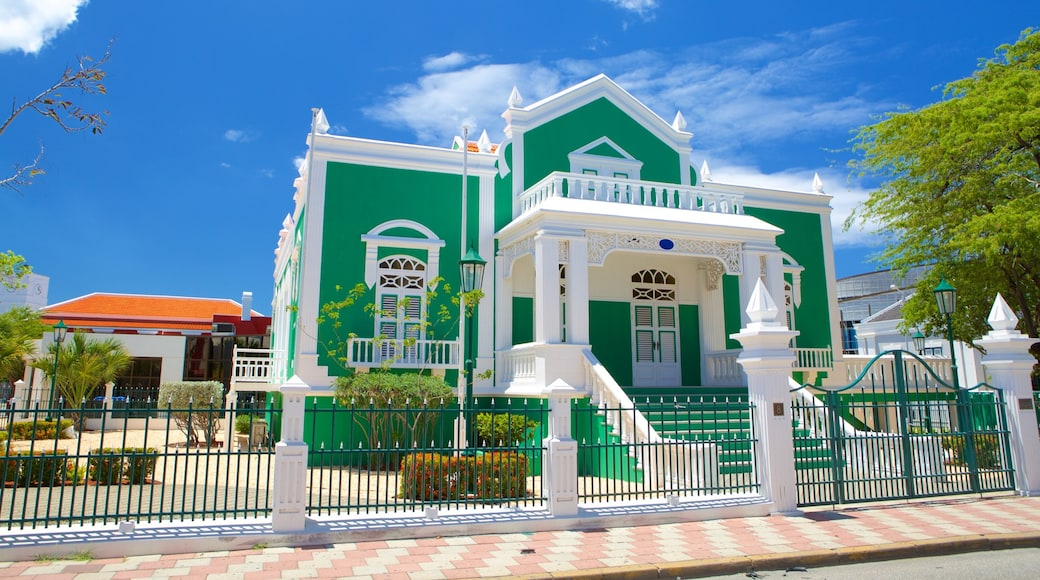 Aruba Town Hall which includes an administrative buidling