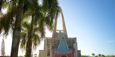 Basílica de Nuestra Señora mostrando arquitetura moderna