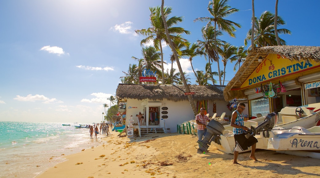 Cortecito Beach featuring a sandy beach