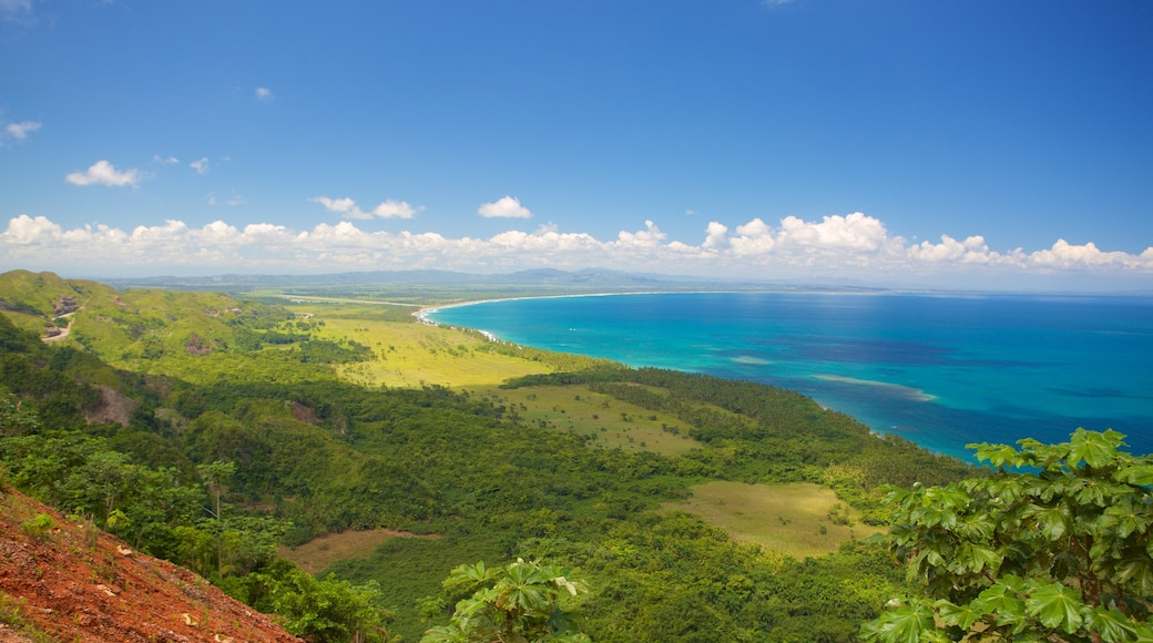 Las Terrenas showing general coastal views and landscape views
