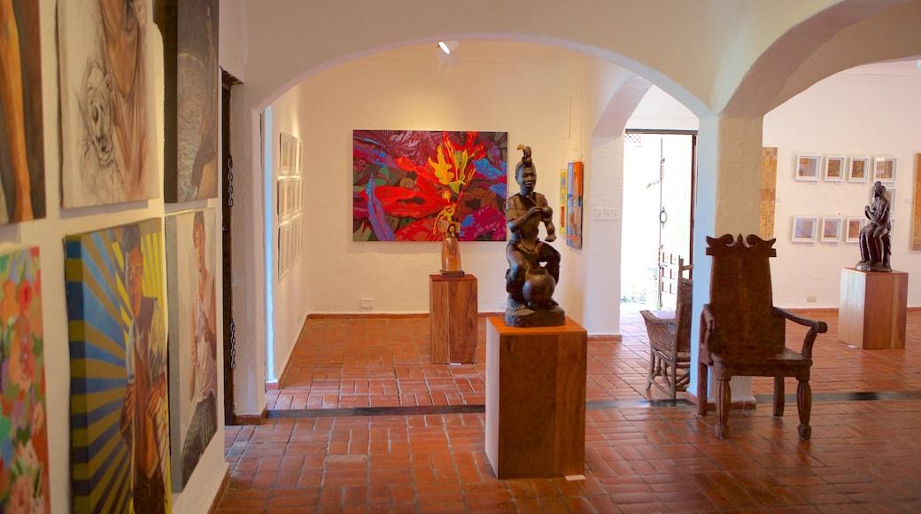Altos de Chavon das einen Kunst und Innenansichten