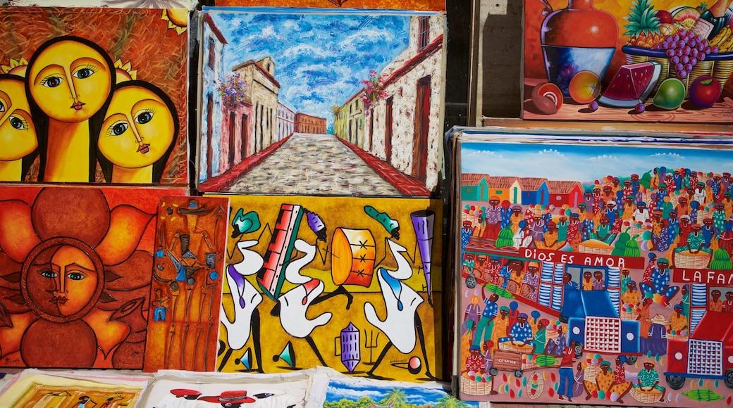 Dominican Republic featuring art