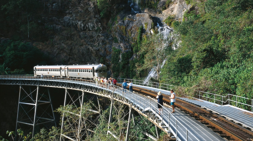 Atherton Tablelands which includes railway items