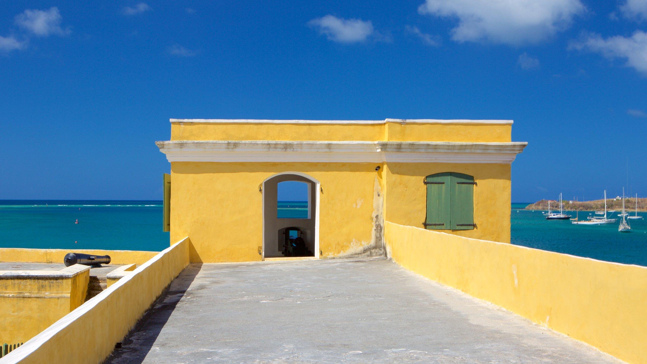 Fort Christiansvaern, Christiansted, St. Croix Island, Amerikaanse Maagdeneilanden
