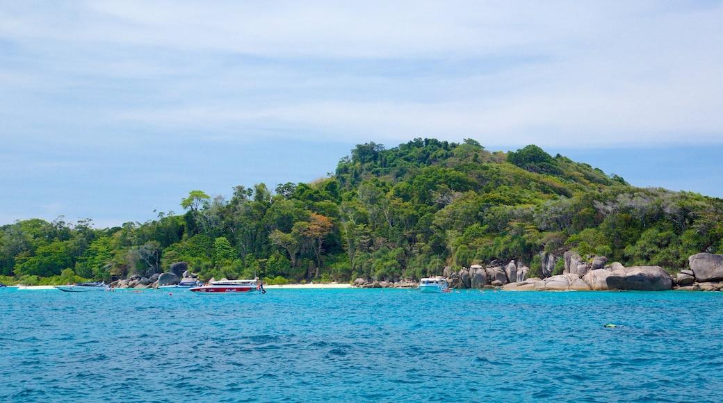 อุทยานแห่งชาติเกาะสิมิลัน เนื้อเรื่องที่ ชายฝั่งทะเล