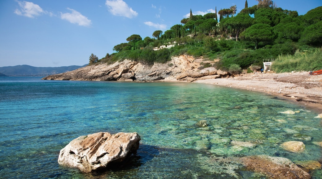 Elba Island which includes rocky coastline