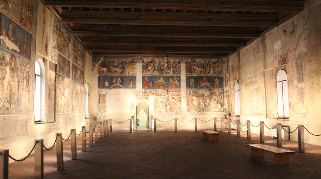 Ferrara showing a church or cathedral, religious elements and interior views