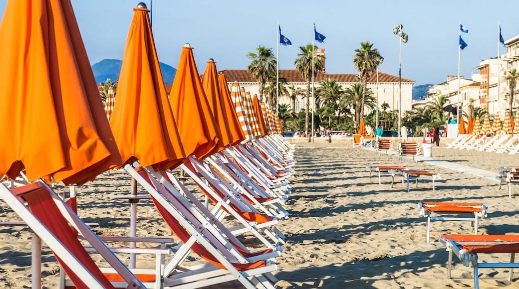 Lido di Camaiore which includes a sandy beach