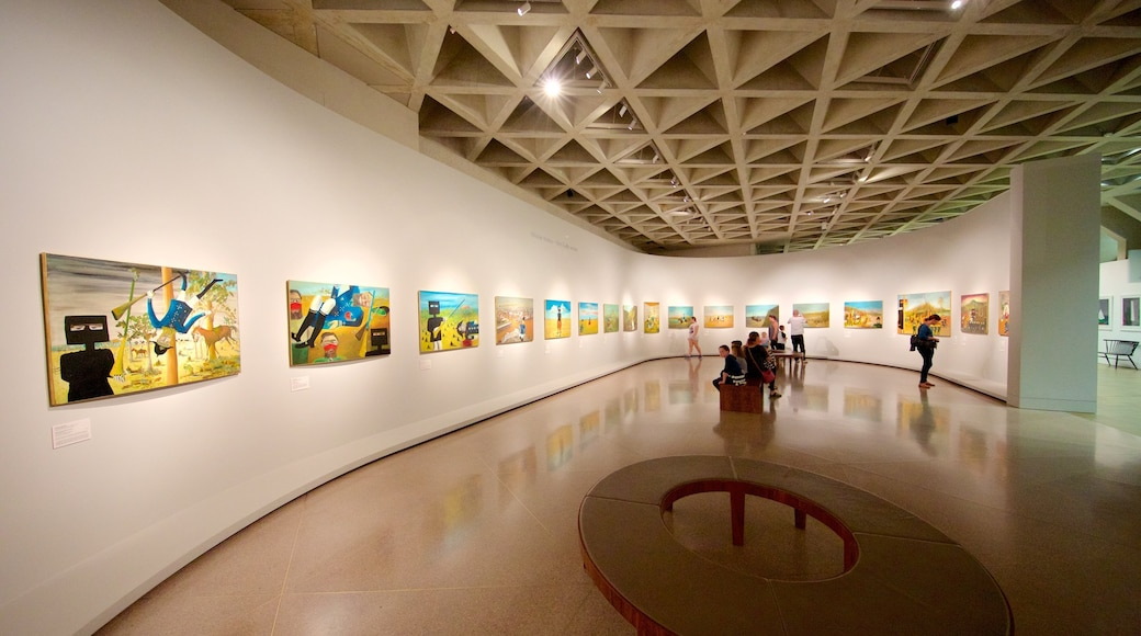 National Gallery of Australia showing interior views