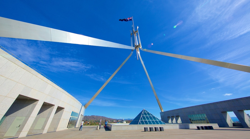 Parliament House showing an administrative building
