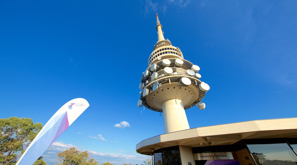 Telstra Tower which includes views