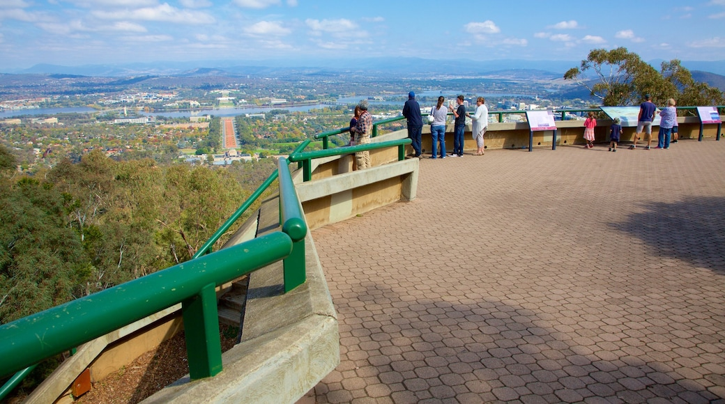 Canberra which includes landscape views and views as well as a small group of people