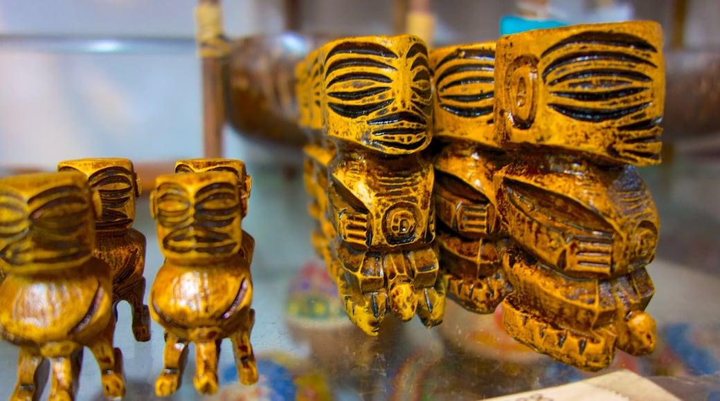 Rarotonga que incluye cultura indígena