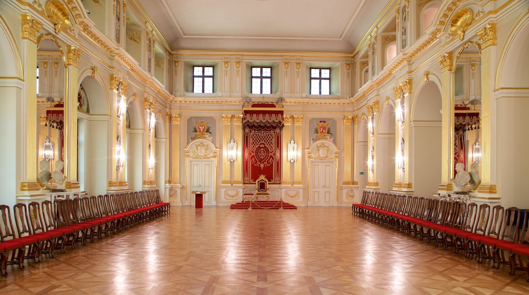 Royal Castle featuring interior views, heritage architecture and heritage elements