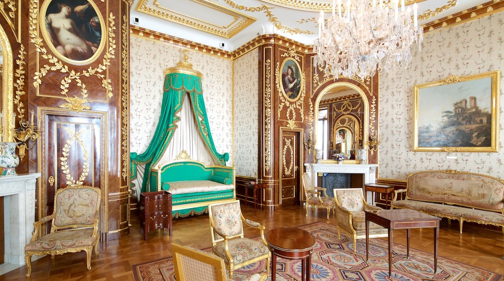 Royal Castle featuring interior views, heritage elements and art
