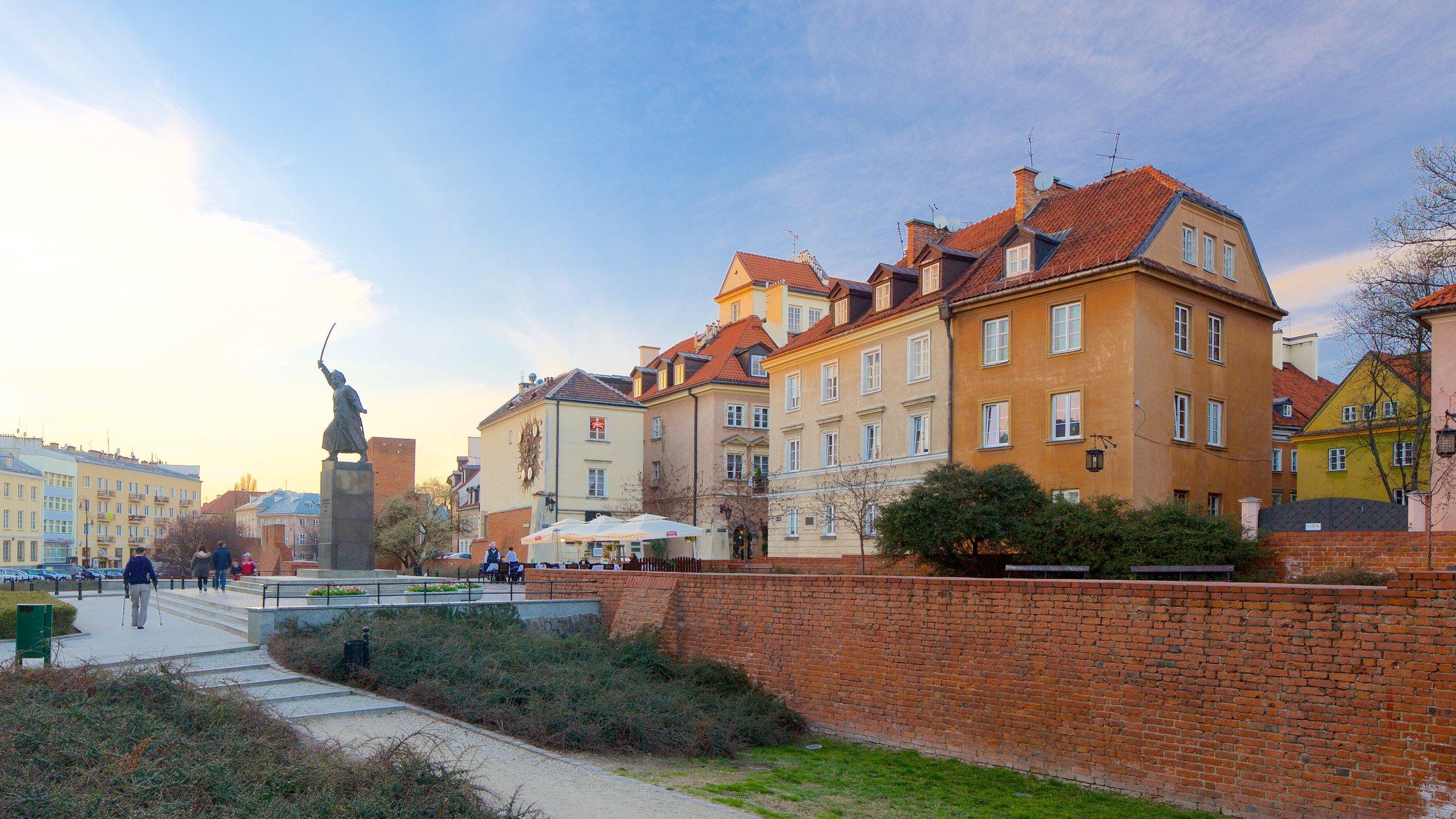 Old Town Warsaw, Warsaw, Masovian Voivodeship, Poland