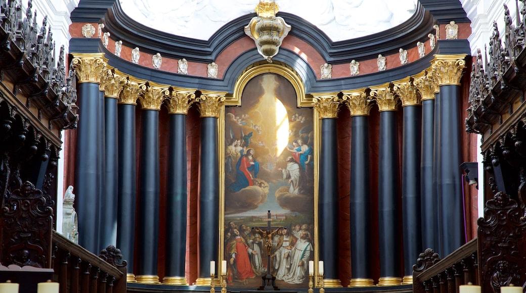 Kathedrale von Oliwa das einen Kunst, Innenansichten und Kirche oder Kathedrale