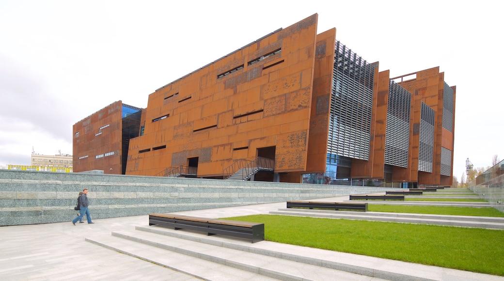 Solidaritetsmuseum fasiliteter samt moderne arkitektur