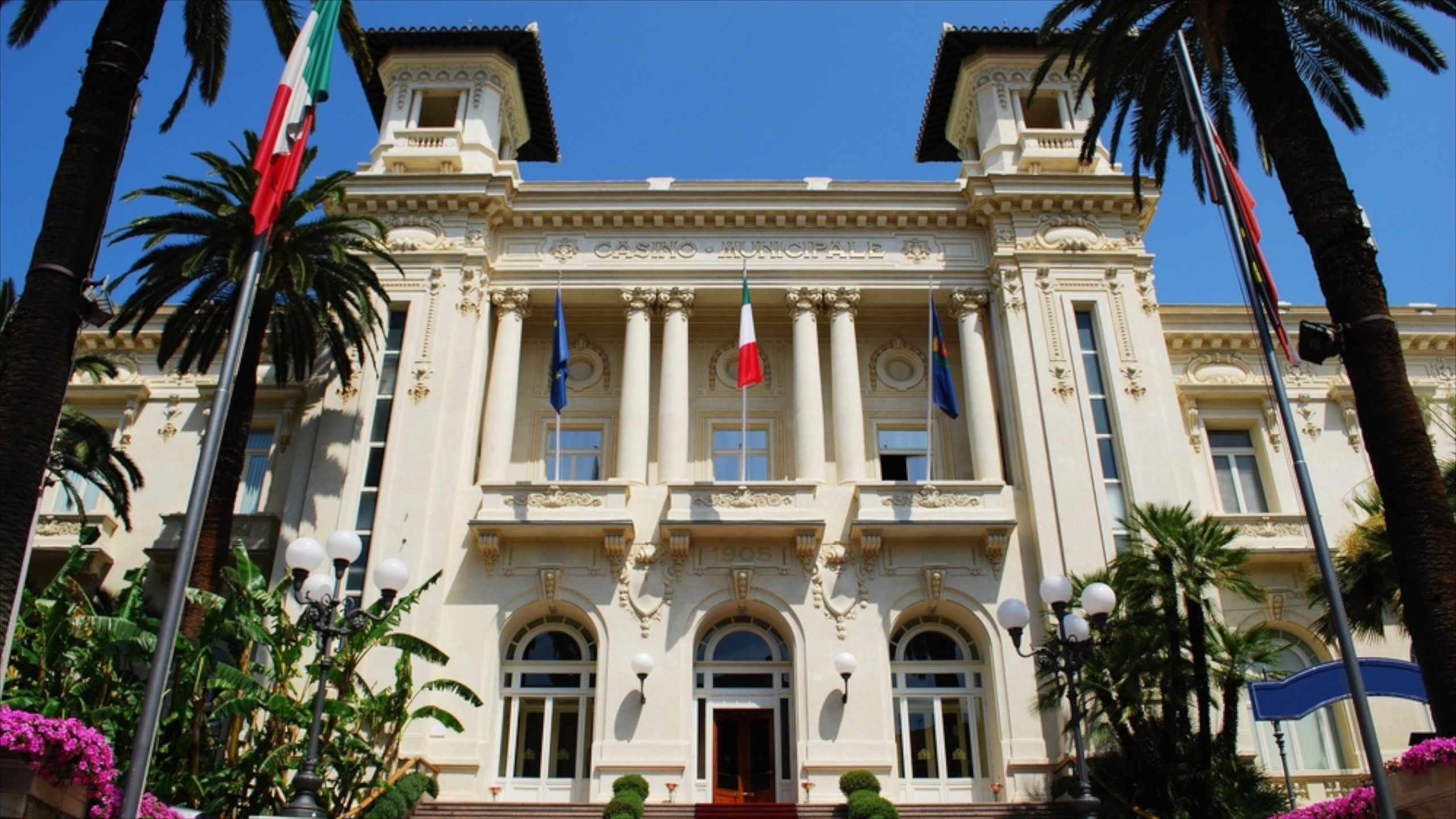 Casino Sanremo, Sanremo, Ligurië, Italië