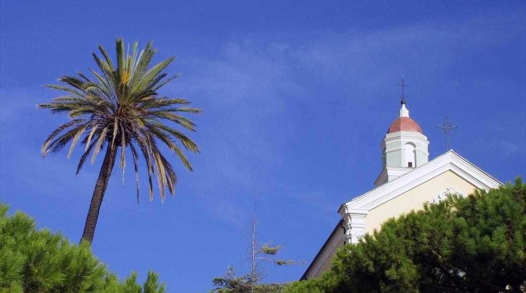 Diano Marina welches beinhaltet Kirche oder Kathedrale