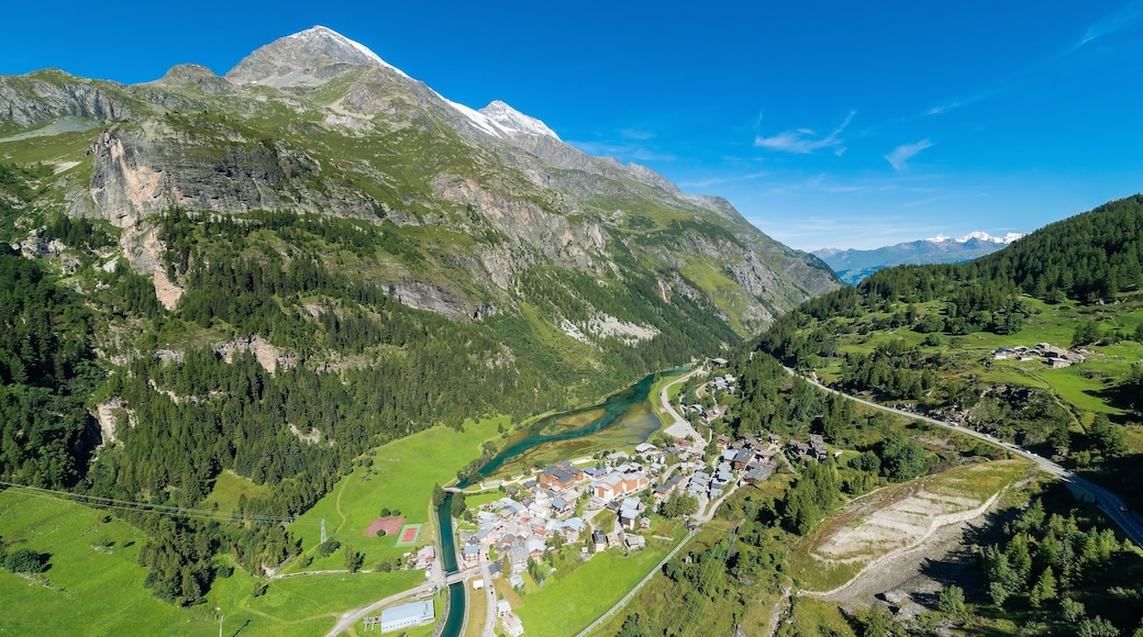 Alpes du Nord which includes a small town or village, landscape views and forest scenes