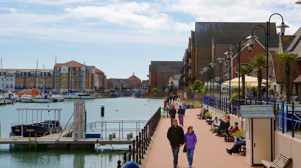 Sovereign Harbour which includes a city and a marina as well as a couple
