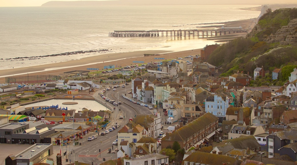 Hastings featuring general coastal views and a small town or village
